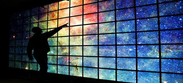 Wissen basierend auf den fünf Sinnen werden dich zu den Sternen, Galaxien, schwarzen und weissen Löchern und eventuell auch zu anderen Universen führen, aber du wirst immer dein Leben weiterführen mit dem falschen Glauben eines jenseitigen Gottes...