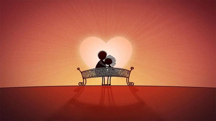 Ein jeder möchte mit dem, den er liebt, zusammensein! ... Er nimmt den Zustand des Geliebten an...