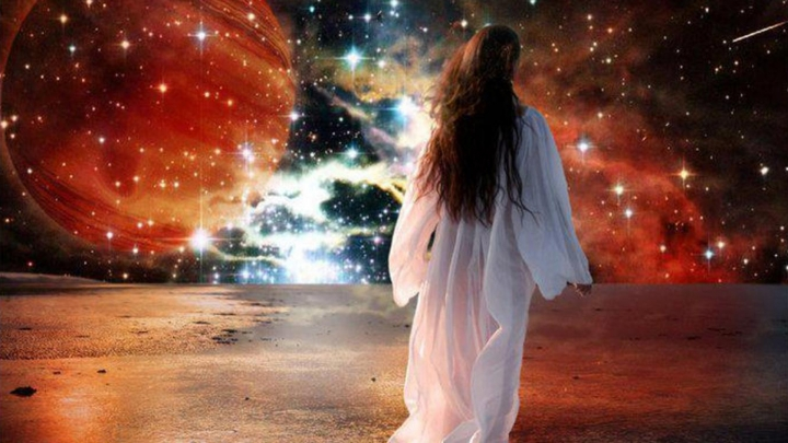 La vie dans la tombe, ressemble á ce stade du rêves ou il continue á percevoir comme si il était éveillé.
