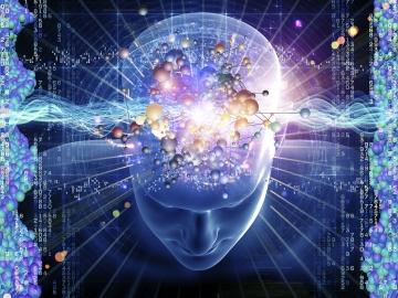 Unser Gehirn wird ständig mit kosmischer Strahlung bombardiert, deren verschiedene Wellenlängen in Wahrheit jede einzeln für sich eine bestimmte Bedeutung trägt.