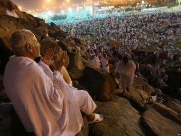 Hacda, yaşamının Arafat'ta bulunduğun o anına kadar, ruhuna yüklenmiş tüm günahlarından arınırsın.