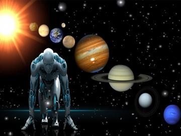 İnsan, kozmik bir android midir?