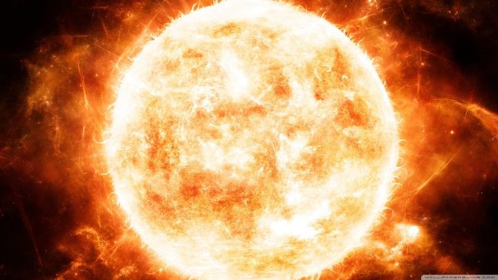 Termonükleer tepkime içinde olan GÜNEŞ'in, bu tepkime sonucu yaydığı çeşitli radyasyonlar, ışınlar SEMUM olarak anlatılmıştır 1400 küsur yıl önce!