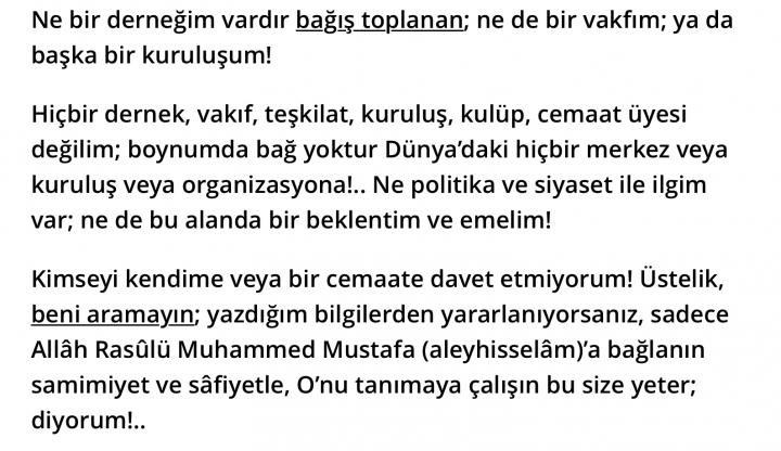 Ahmed Hulusi_dernek
