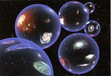 """Her biri, evren içre evrenler ihtiva eden sayısız """"nokta""""lar!"""