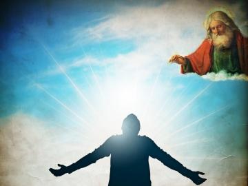 Yukarıda, uzayda veya başka bir galakside yaşamakta olan ve buraya elçi yollayan, OĞUL yollayan bir tanrı asla var olmamıştır!