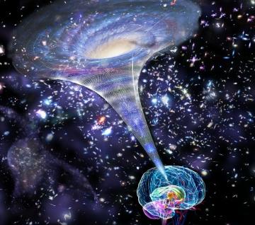 """İnsanda açığa çıkan bilinç, gerçekte """"evrensel bilincin"""", beyinden programına göre açığa çıkmış hâlidir!"""