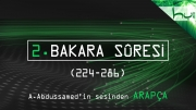 2. Bakara Sûresi (224-286) - Kur'ân-ı Kerîm Çözümü (arapça)