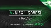 4. Nisâ' Sûresi (094-176) - Kur'ân-ı Kerîm Çözümü (arapça)