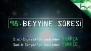 98 - Beyyine Sûresi - Arapçalı Türkçe Kur'ân Çözümü