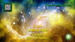 BAKARA SÛRESİ (224-286) - KUR'ÂN-I KERÎM ÇÖZÜMÜ